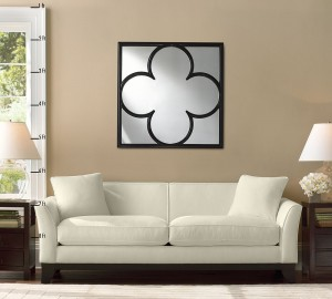 Beautiful Clover Mirror from Pottery Barn