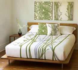 Bedding d cor room decorating ideas for Eco friendly bedroom ideas