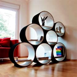 Creative Shelf creative shelving system to store your dearest collection a few of