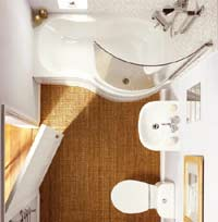 Practical small bathroom design room decorating ideas for I want to design my own bathroom