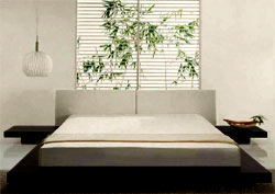 Zen bedroom design home decoration live for Deco mural zen