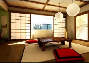 Simplicity with Zen Decor Room Decorating Ideas