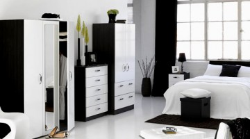Black and White Decorating Ideas & Black and White Bedroom Decorating Ideas » Room Decorating Ideas