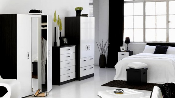 Black And White Bedroom Decor » Room Decorating Ideas