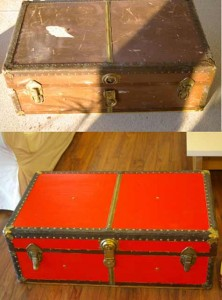 Design Sponge Trunk Before and After
