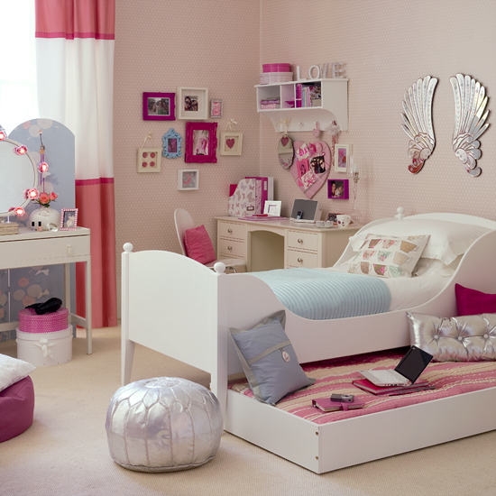 Pretty bedroom ideas simple home decoration Pretty room colors for girls