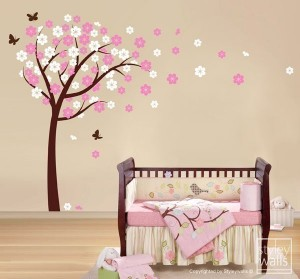 Room Design Ideas  Living Room on Add Decor To Your Nursery Walls With Stencils