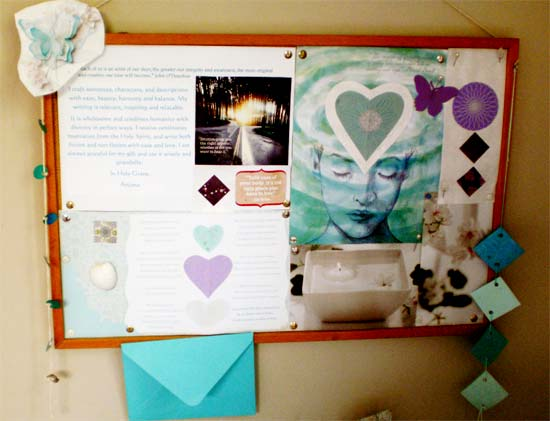 Mood Board Decorating Idea