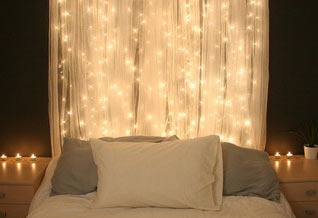Creative Romantic Headboard