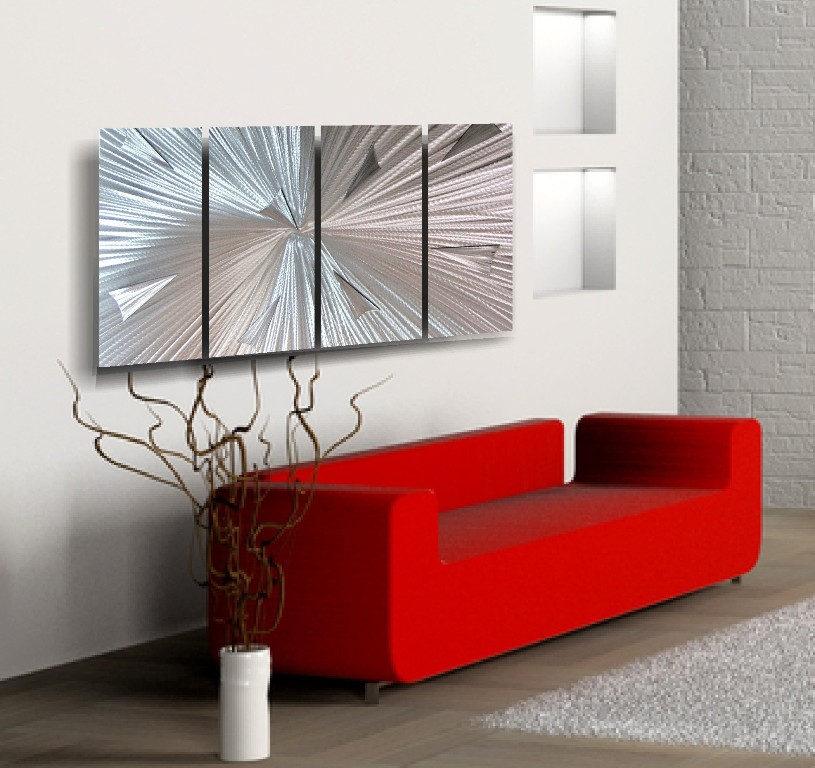 Elegant Modern Metal Wall Art